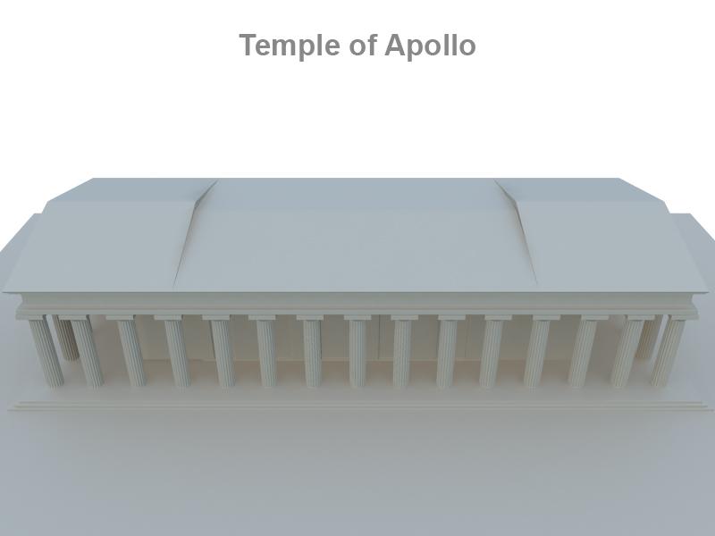 apollo temploma 3d modell 3ds fbx c4d lwo ma mb hrc xsi objektum 119421
