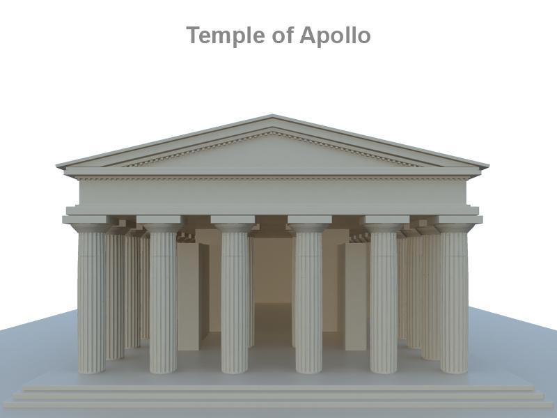apollo temploma 3d modell 3ds fbx c4d lwo ma mb hrc xsi objektum 119422