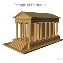Temple of Portunus     ( 154.58KB jpg by rmodeler )