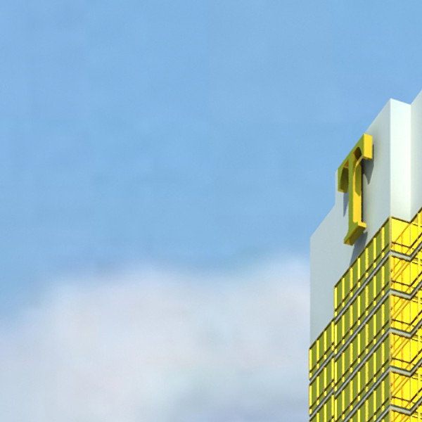 trump international hotel high detail 3d model max fbx obj 130090