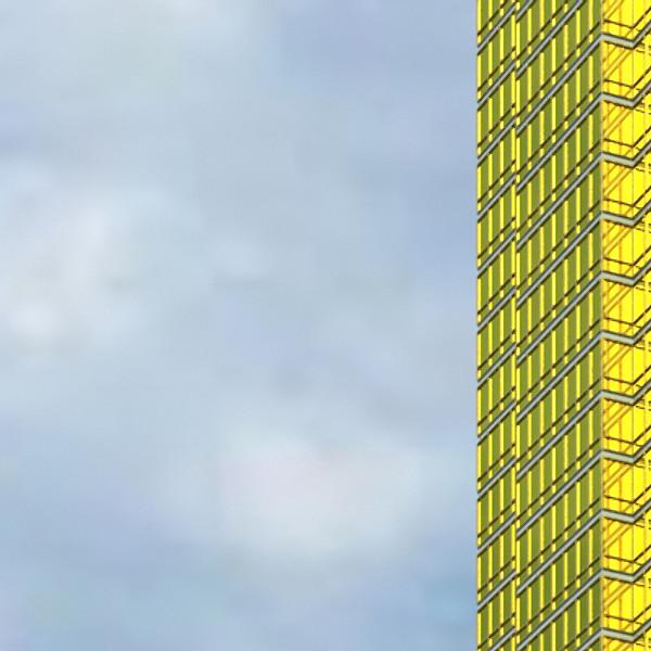 trump international hotel high detail 3d model max fbx obj 130094