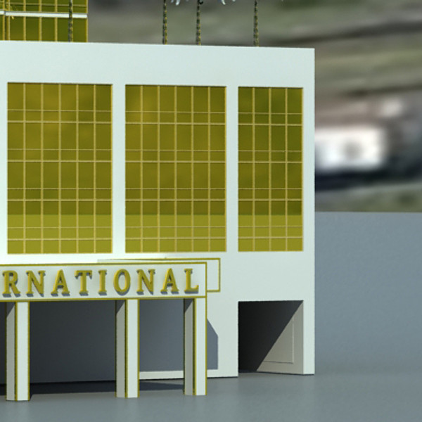 trump international hotel high detail 3d model max fbx obj 130113