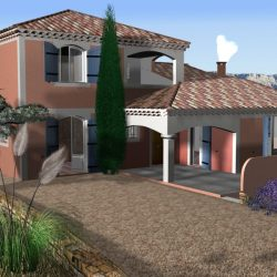 Villa from south of France ( 387.18KB jpg by supercigale )