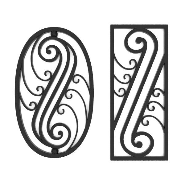 wrought iron elements vol 3 3d model fbx blend obj 129284