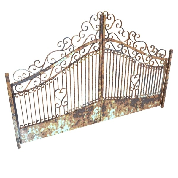 wrought iron gate 01 3d model 3ds max fbx obj 131933