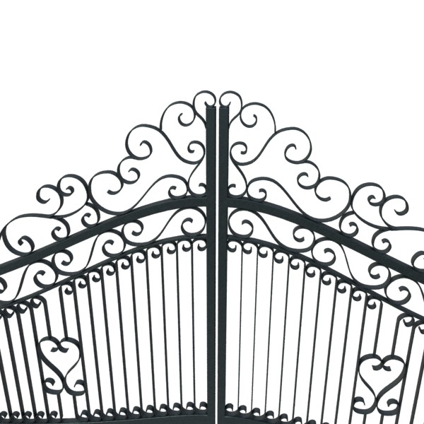 wrought iron gate 01 3d model 3ds max fbx obj 131941