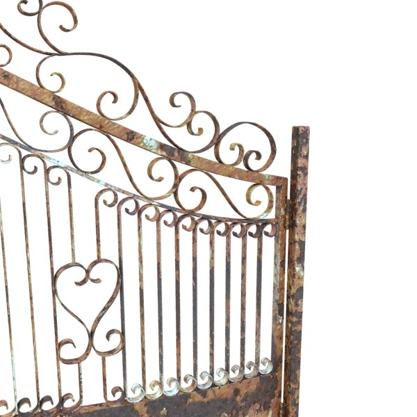 wrought iron gate 01 3d model 3ds max fbx obj 131944