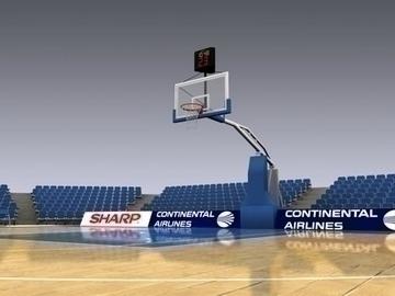 basketball court 3d model 3ds max obj 81519
