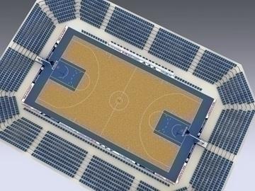 basketball court 3d model 3ds max obj 81520