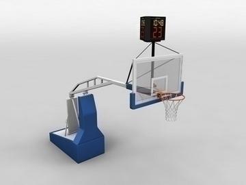 basketball court 3d model 3ds max obj 81521