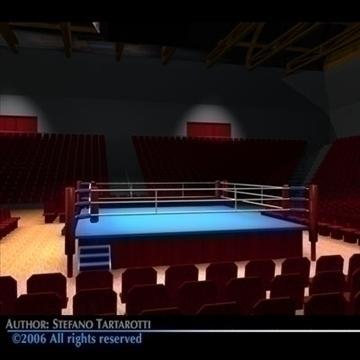 boks arena c4d 3d model c4d 81940