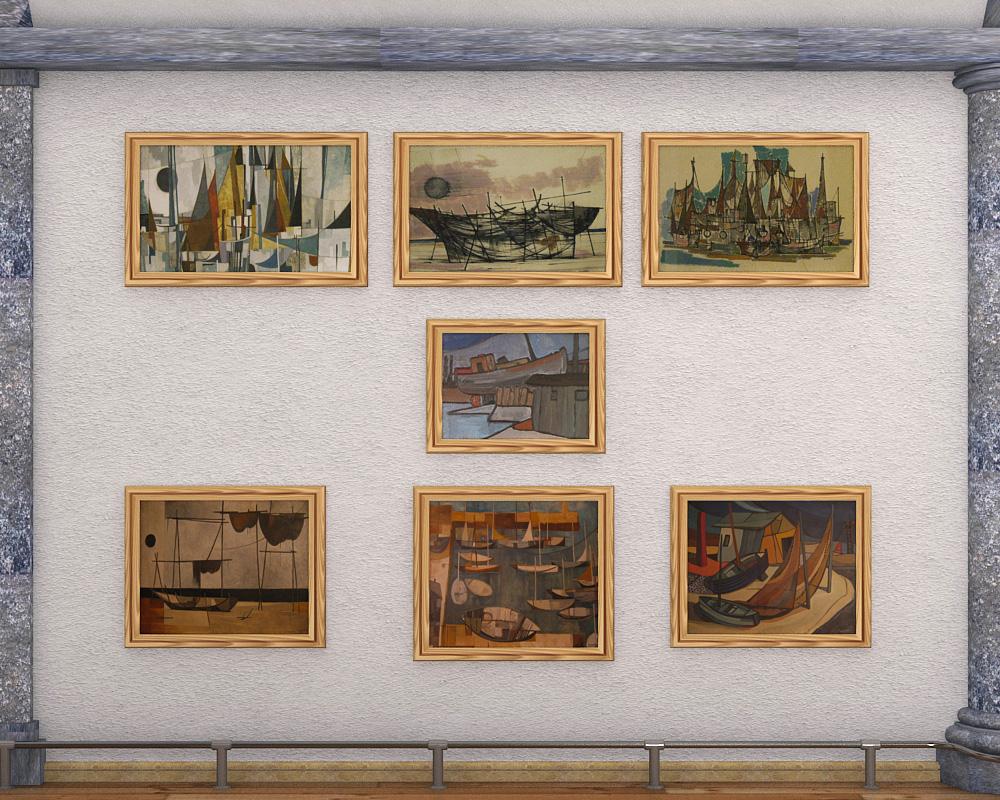 exhibition hall 2 3d model max 144596