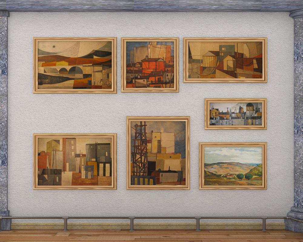 exhibition hall 2 3d model max 144598