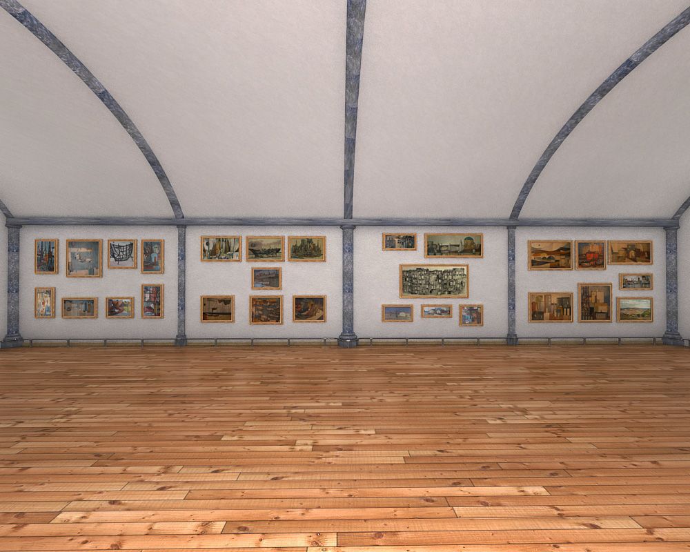 sala d'exposicions 2 3d model max 144599