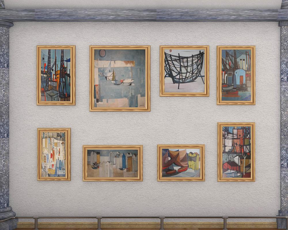 Exhibition Hall D Model : Exhibition hall d model buy
