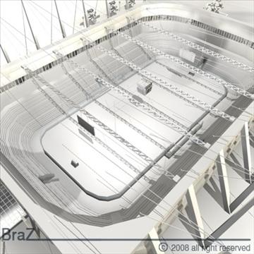 hockey stadium 3d model 3ds dxf c4d obj 88965
