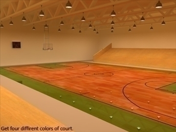 mini or training arena. (national court) 3d model max other 95590