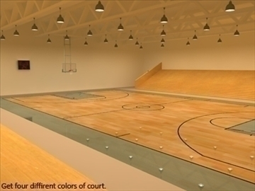 mini or training arena. (national court) 3d model max other 95591