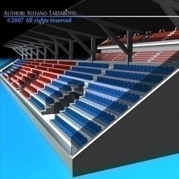 цэнгэлдэх хүрээлэн суудал газар цуглуулах 3d загвар 3ds dxf c4d obj 85371