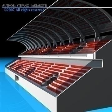 цэнгэлдэх хүрээлэн суудал газар цуглуулах 3d загвар 3ds dxf c4d obj 85372