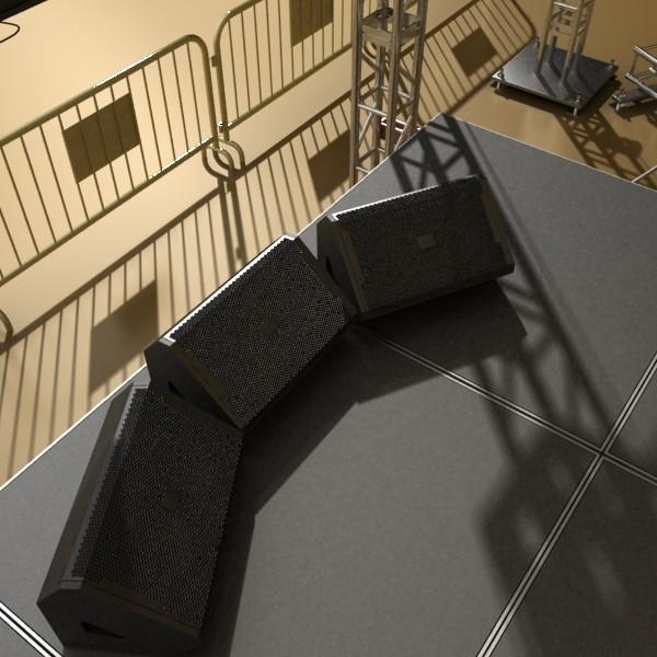 stage equipment mega pack high detail 3d model max fbx obj 131119