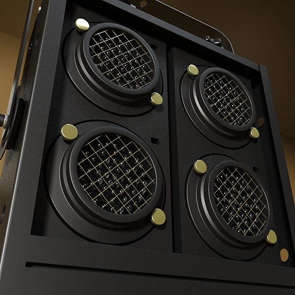 stage equipment mega pack high detail 3d model max fbx obj 131159