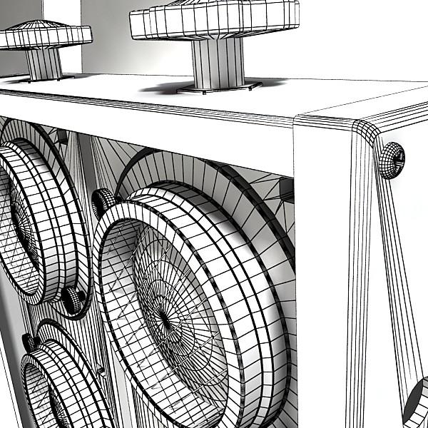 stage equipment mega pack high detail 3d model max fbx obj 131168
