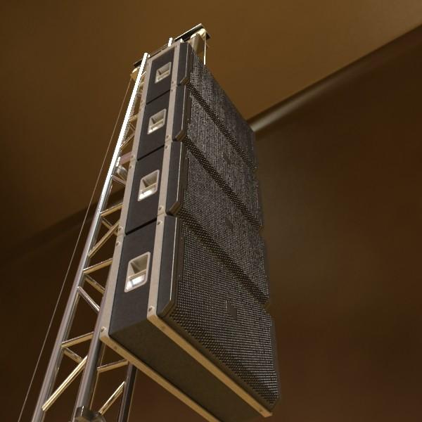 stage equipment mega pack high detail 3d model max fbx obj 131199