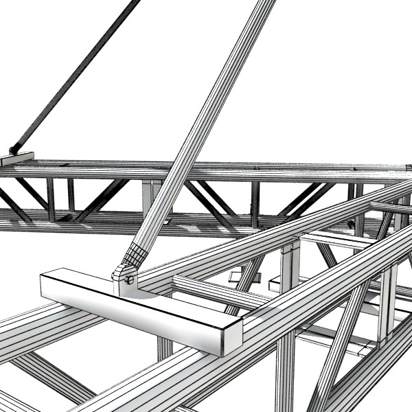 stage equipment mega pack high detail 3d model max fbx obj 131208