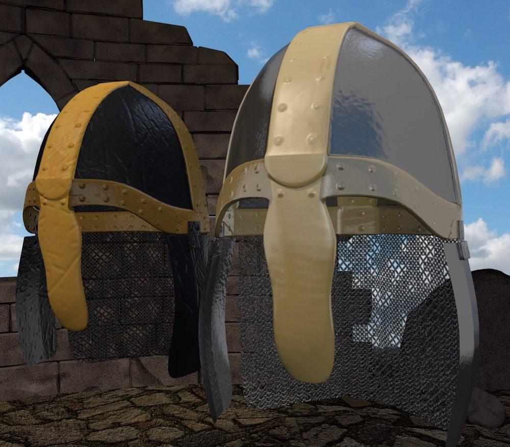 3D Model Medieval Knight Helmet ( 229.33KB jpg by forestdino )
