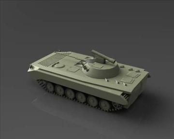 bmp 2 soviet infantry combat vehicle 3d model 3ds max x lwo ma mb obj 111230