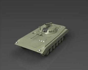 bmp 2 soviet infantry combat vehicle 3d model 3ds max x lwo ma mb obj 111231