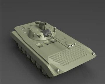bmp 2 soviet infantry combat vehicle 3d model 3ds max x lwo ma mb obj 111232