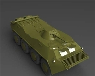 btr 70 soviet хуягт хүн хүчний тээвэрлэгч 3d загвар 3ds max x lwo ma mb obj 101284