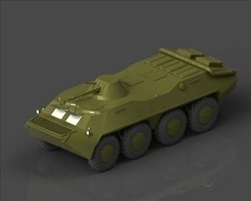 btr 70 soviet хуягт хүн хүчний тээвэрлэгч 3d загвар 3ds max x lwo ma mb obj 101285
