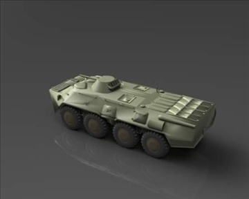 btr 80 soviet armored personnel carrier 3d model 3ds max x lwo ma mb obj 101287