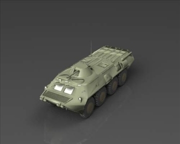 btr 80 soviet armored personnel carrier 3d model 3ds max x lwo ma mb obj 101288