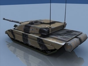 challenger 2 mbt game ready 3d model 3ds max 99393