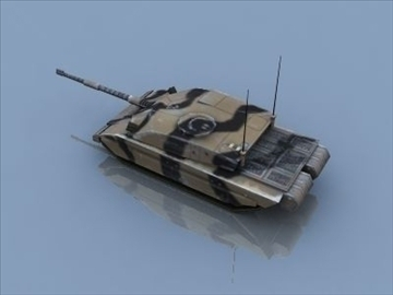 challenger 2 mbt game ready 3d model 3ds max 99394