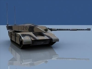 Challenger 2 MBT Game Ready