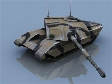 challenger 2 mbt game ready 3d model 3ds max 99397