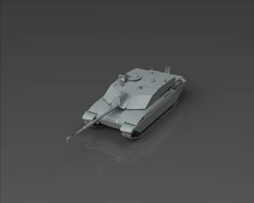fv4034 challenger 2 3d model 3ds max x lwo ma mb obj 101343