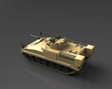 fv510 warrior tracked armoured vehicle 3d model 3ds max x lwo ma mb mpg mpeg 101383