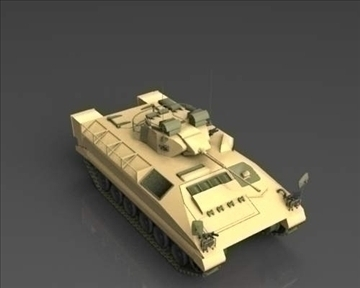 fv510 warrior tracked armoured vehicle 3d model 3ds max x lwo ma mb mpg mpeg 101385
