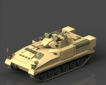 fv510 warrior tracked armoured vehicle 3d model 3ds max x lwo ma mb mpg mpeg 101386