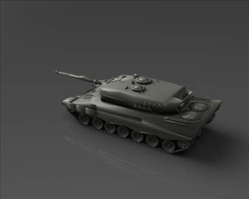 leopard 2 3d model 3ds max x lwo ma mb obj 101347