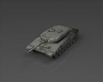 leopard 2 3d model 3ds max x lwo ma mb obj 101348