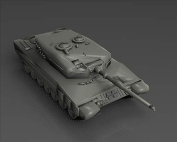 leopard 2 3d model 3ds max x lwo ma mb obj 101349