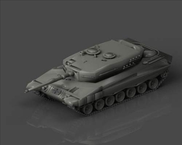 leopard 2 3d model 3ds max x lwo ma mb obj 101350