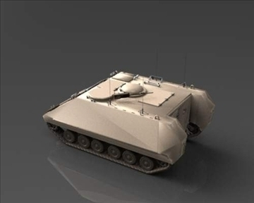 m113 armored personnel carrier 3d model 3ds max x lwo ma mb obj 101432